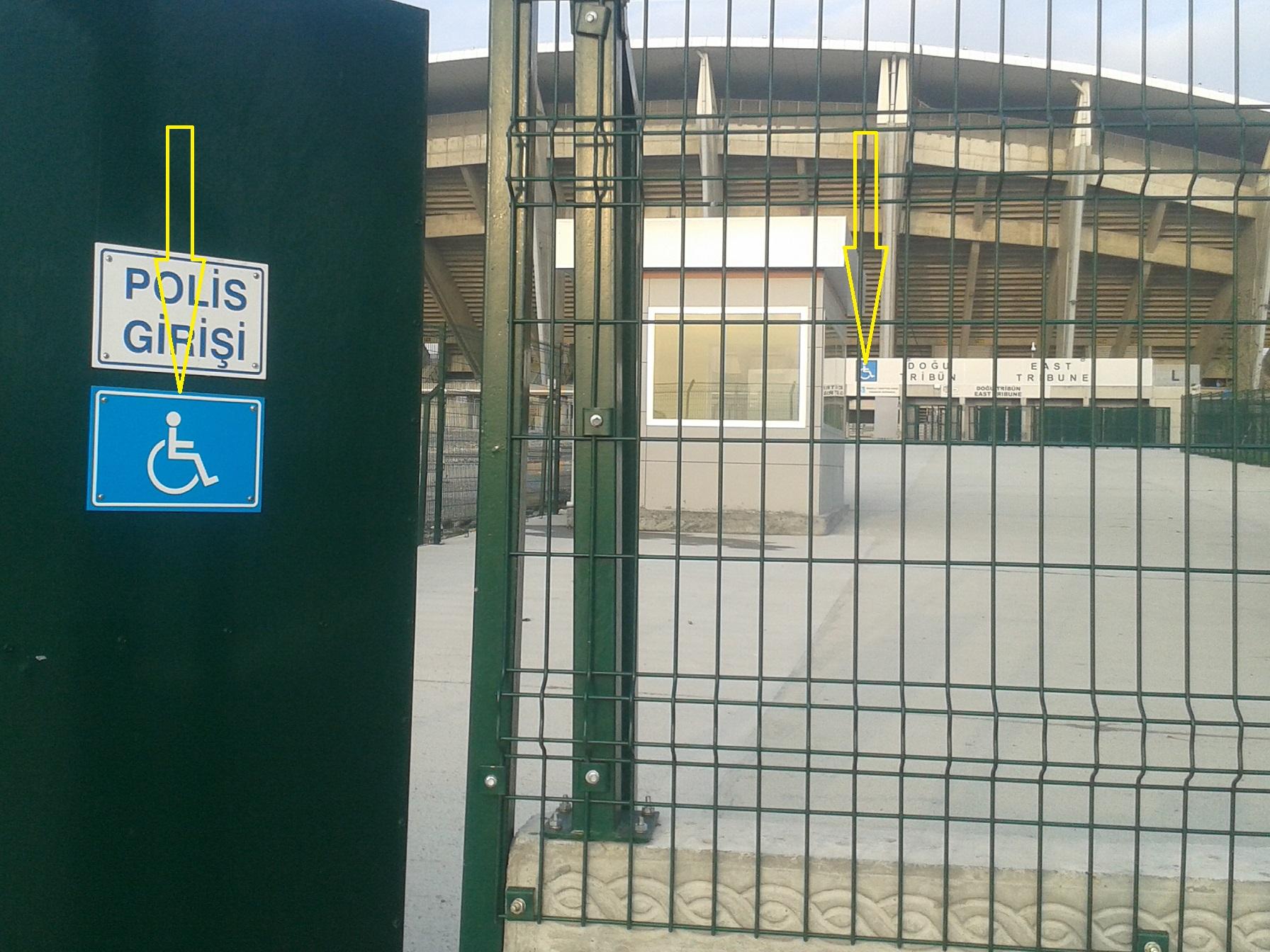 5 engelsiz - Atat�rk Olimpiyat stad�nda engelliler i�in uygun d�zenlemeler yap�ld�