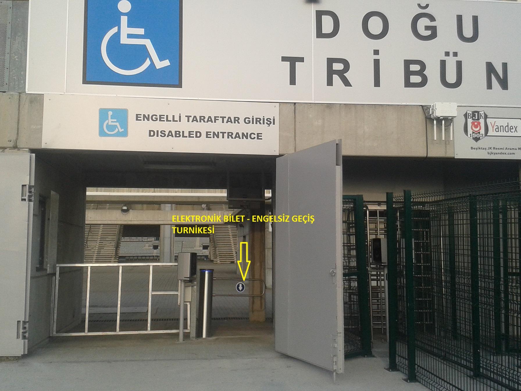 7 engelsiz - Atat�rk Olimpiyat stad�nda engelliler i�in uygun d�zenlemeler yap�ld�